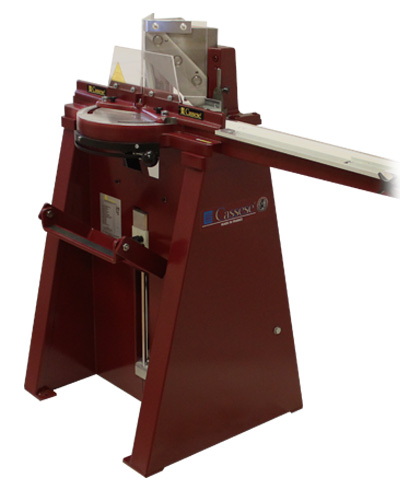 CS 55 M2 foot operated guillotine