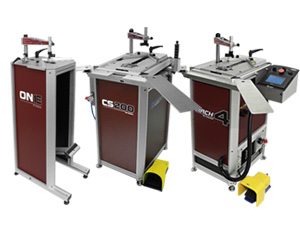 Underpinners Cassese, cart underpinners (v-nailers) are using cartridge wedges and uni underpinners (v-nailers) using uni wedges
