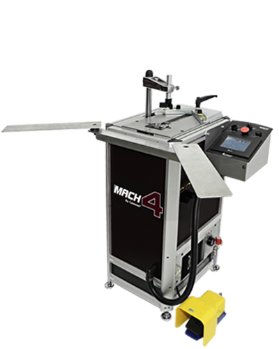 MACH 4 UNI, high speed memory underpinner (v-nailer), very wide stroke = 19cm, very powerful Ultra Clamps, extremely fast = 3,360 cycles / hour
